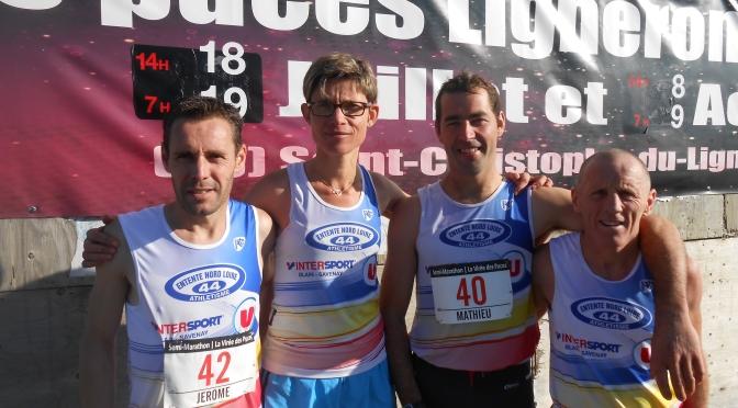 Semi-Marathon de St christophe de Ligneron – 2 qualifiés au France